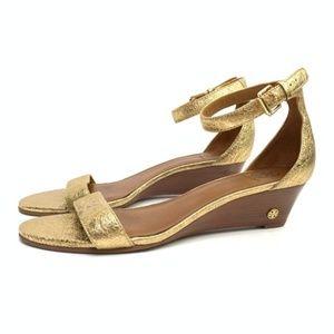a1f00208a1fb Women s Tory Burch Savannah Wedge Sandal on Poshmark